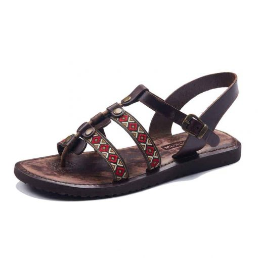 women's handmade leather chic sandals