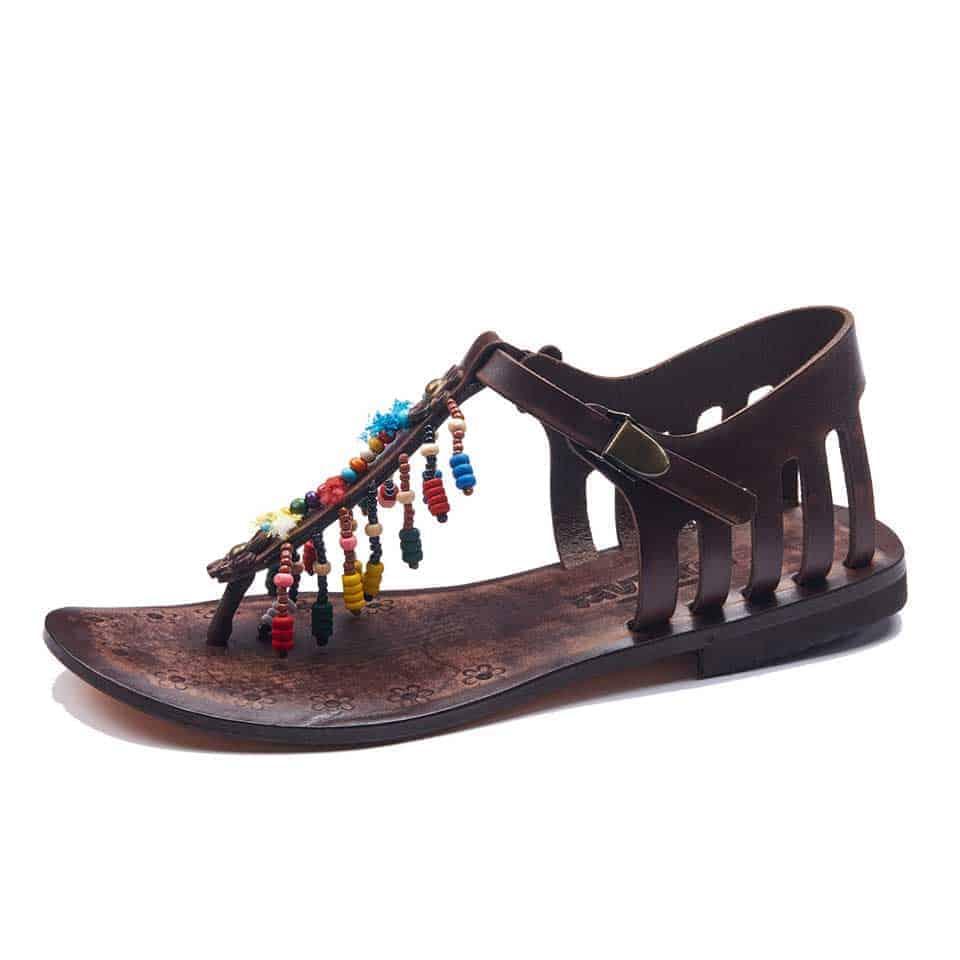 d3a8a0548fa457 Handmade Leather Bodrum Sandals Women -100% Handmade Sandals