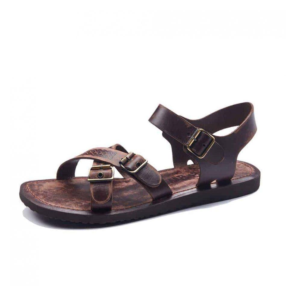 mens sandals, men's handmade leather bodrum sandals, leather sandals for men.