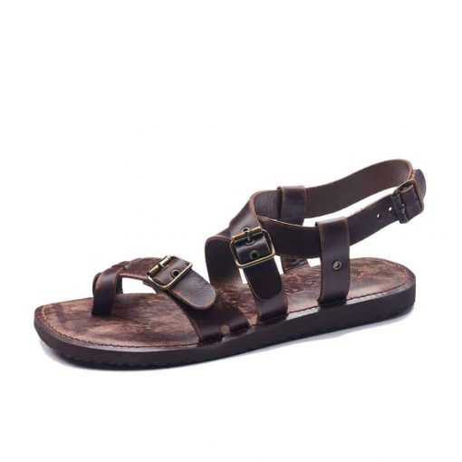 men's handmade leather bodrum sandals