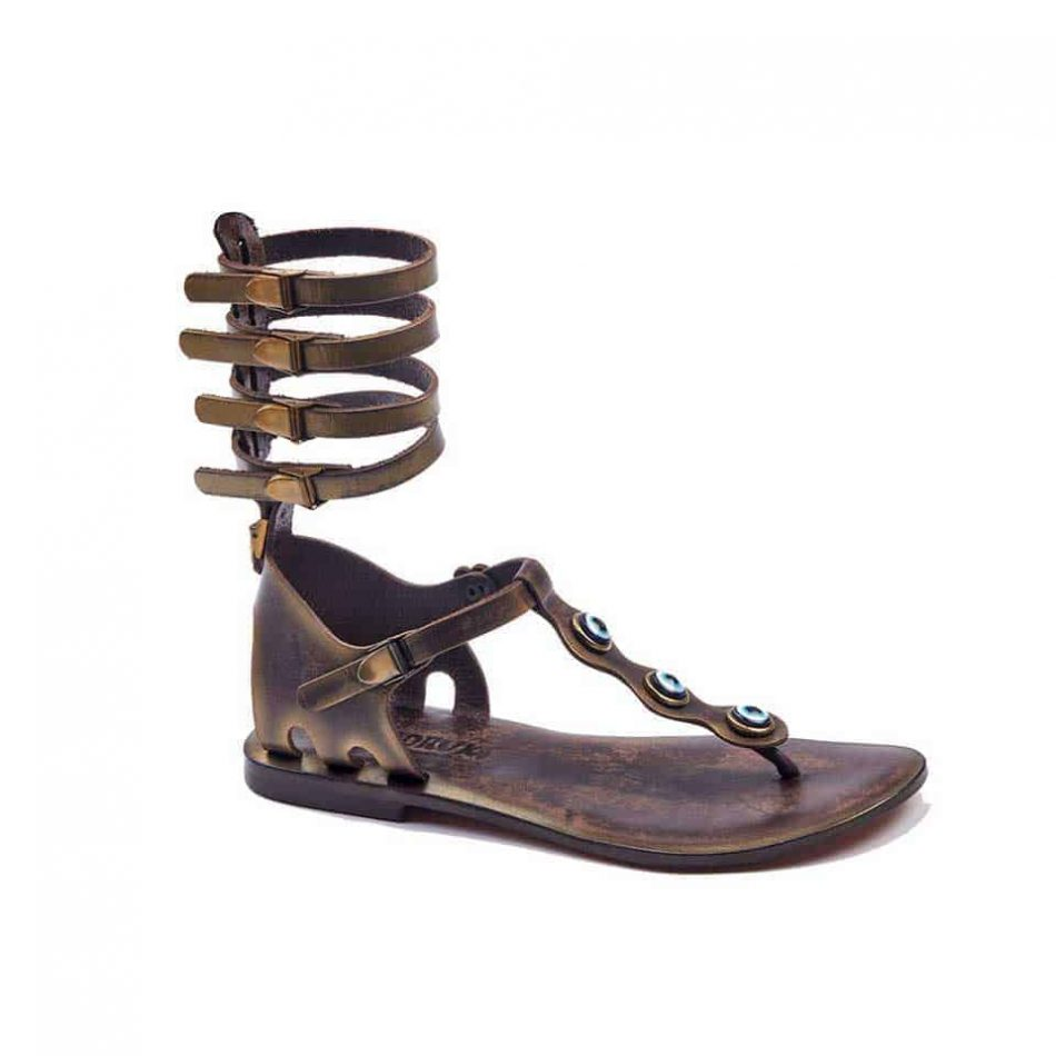 handmade leather gladiator brown womens sandals 602 950x950 - Handmade Leather Gladiator Sandals 602