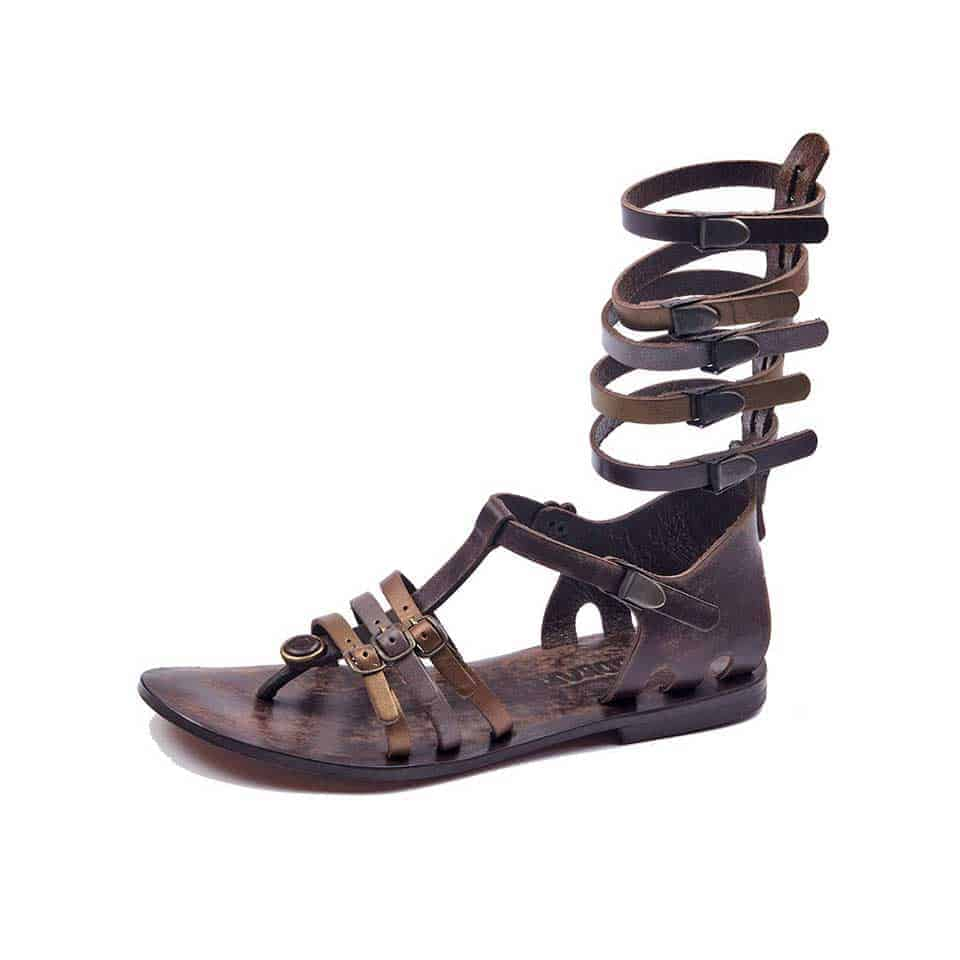 422684e7c22 Handmade Leather Gladiator Sandals- 100% Handmade Gladiator Sandals