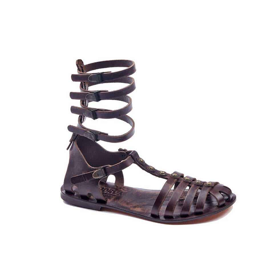 c86d5f0d8f34 handmade leather gladiator strappy brown women sandals cheap comfortable  cute-sandals