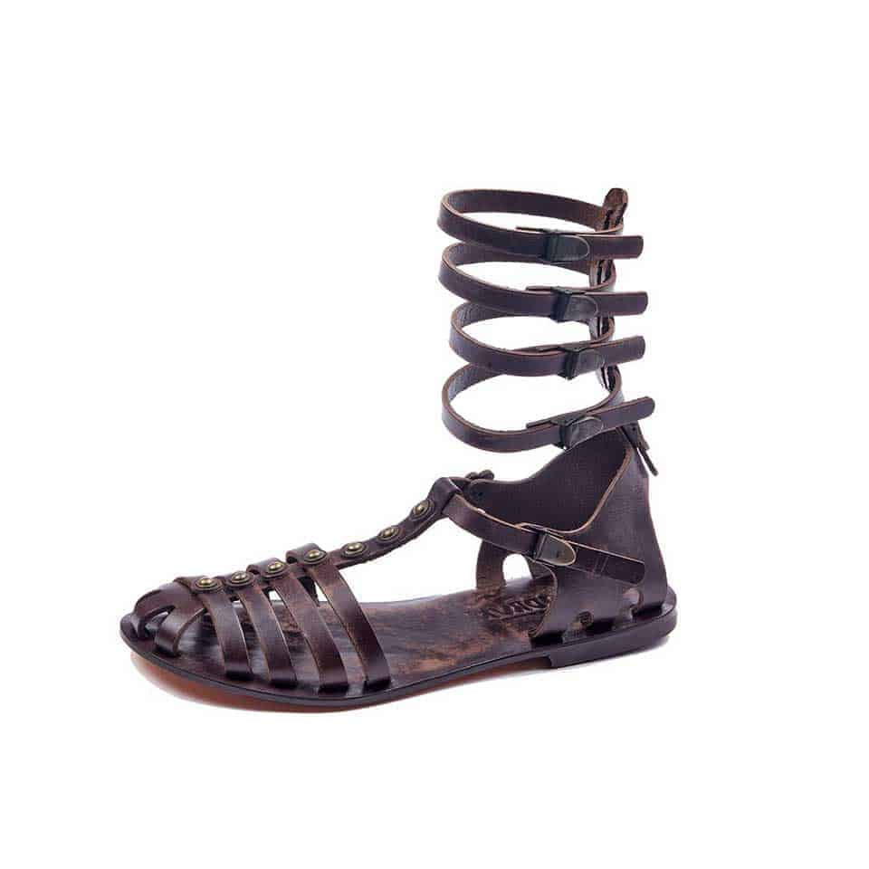75c943728 handmade leather gladiator strappy brown women sandals cheap comfortable  cute-sandals