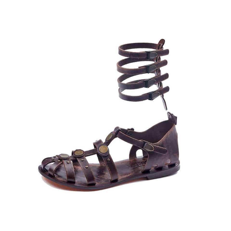 9fee6fa9876e Handmade Leather Gladiator Sandals- 100% Handmade Gladiator Sandals