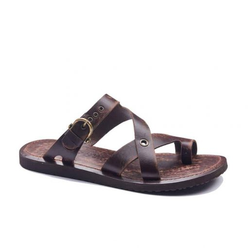 handmade leather mens sandals 1942 1 510x510 - Handmade Leather Bodrum Mens Toe Thongs Buckle Sandals