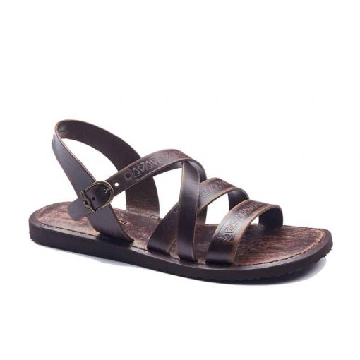 handmade leather mens sandals 1947 1 510x510 - Handmade Mens Strappy Leather Sandals Open Toe