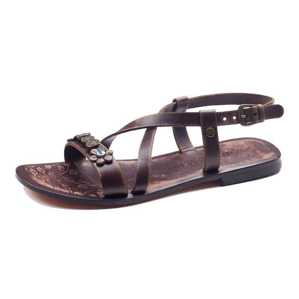 a0dc7c3353c9 Handmade Leather Bodrum Sandals Women - Genuine Leather Sandals