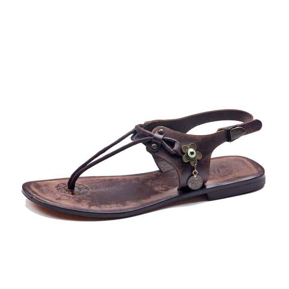 dfc390aa0110 Handmade Leather Bodrum Womens Sandals - High Quality Cheap