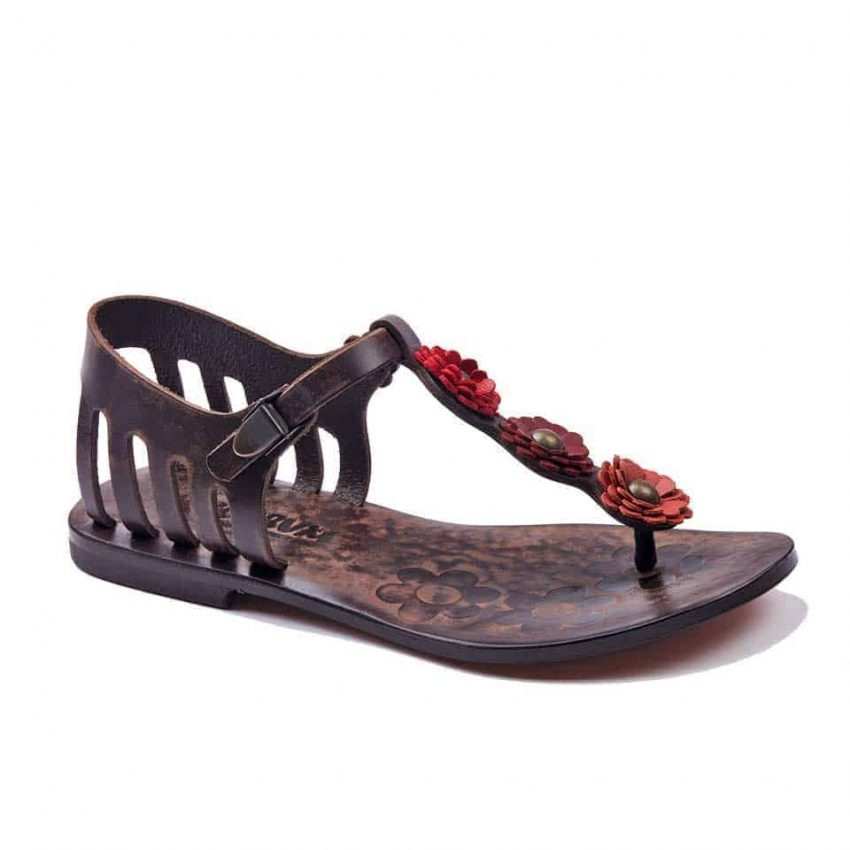 handmade leather womens sandals 1 850x850 - Handmade Leather Bodrum Sandals Women