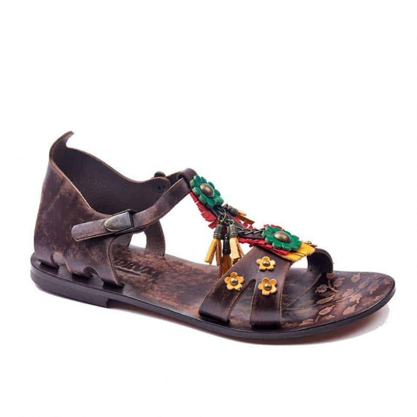 handmade leather womens sandals 639 1 850x850 - Handmade Leather Bodrum Sandals Women