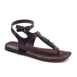 handmade leather womens sandals 710 1 247x247 - Handmade Leather Ankle Wrap Womens Sandals