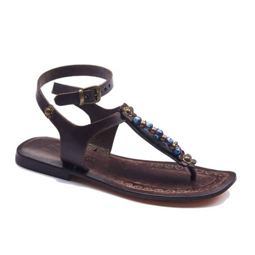 handmade leather womens sandals 710 1 510x510 - Handmade Leather Ankle Wrap Womens Sandals