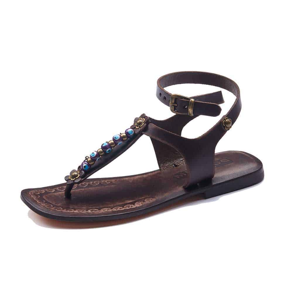 37080b0ab05eb3 Handmade Leather Ankle Wrap Womens Sandals - Best Womens Sandals