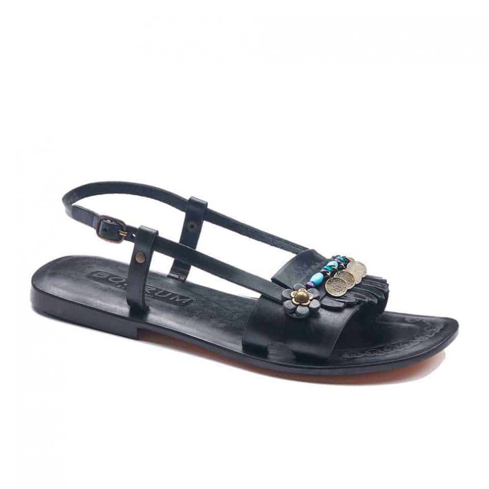 handmade leather womens sandals 715 1 950x950 - Handmade Leather Bodrum Sandals Women
