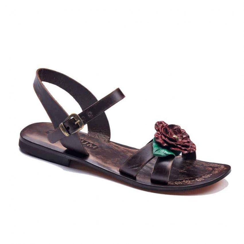 handmade leather womens sandals 717 1 850x850 - Handmade Leather Bodrum Sandals Women