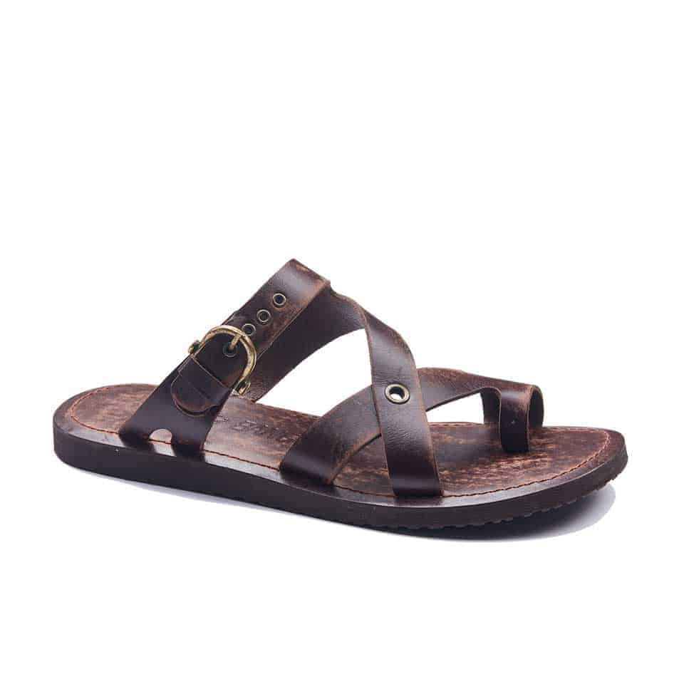 1c3488abc4d958 handmade leather mens sandals 1942 1 510x510 - Handmade Leather Bodrum Mens  Toe Thongs Buckle Sandals