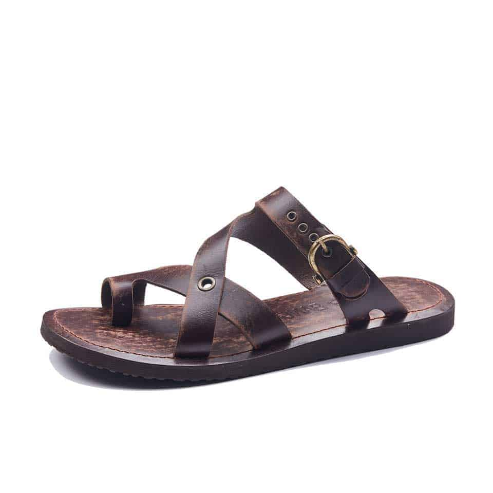 524f18f457067 Handmade Mens Leather Sandals - Best Leather Sandals Online Shopping