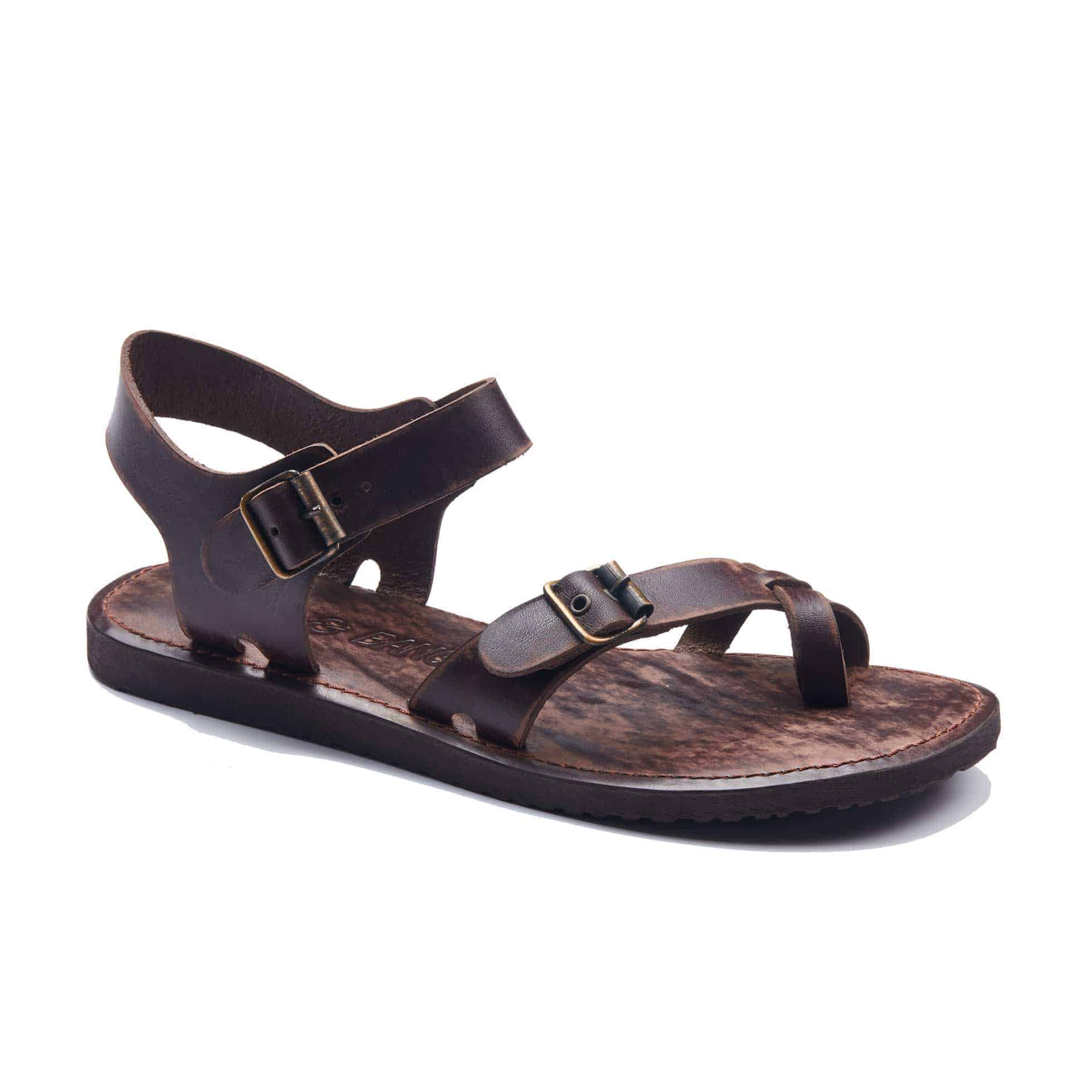57ada86636199 Handmade Leather Bodrum Sandals- Best Mens Strappy Leather Sandals.