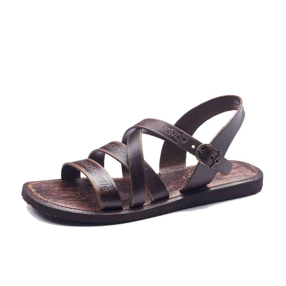a878bc8883e2f5 Handmade Mens Leather Sandals - Strappy Open Toe stylish Sandals.