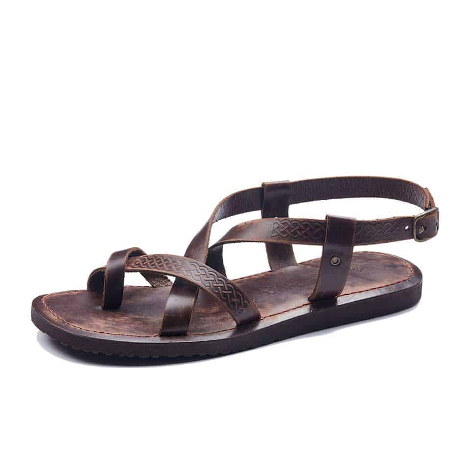 a54ebd764f9aa Handmade Leather Bodrum Sandals Men Toe Thongs Sandal