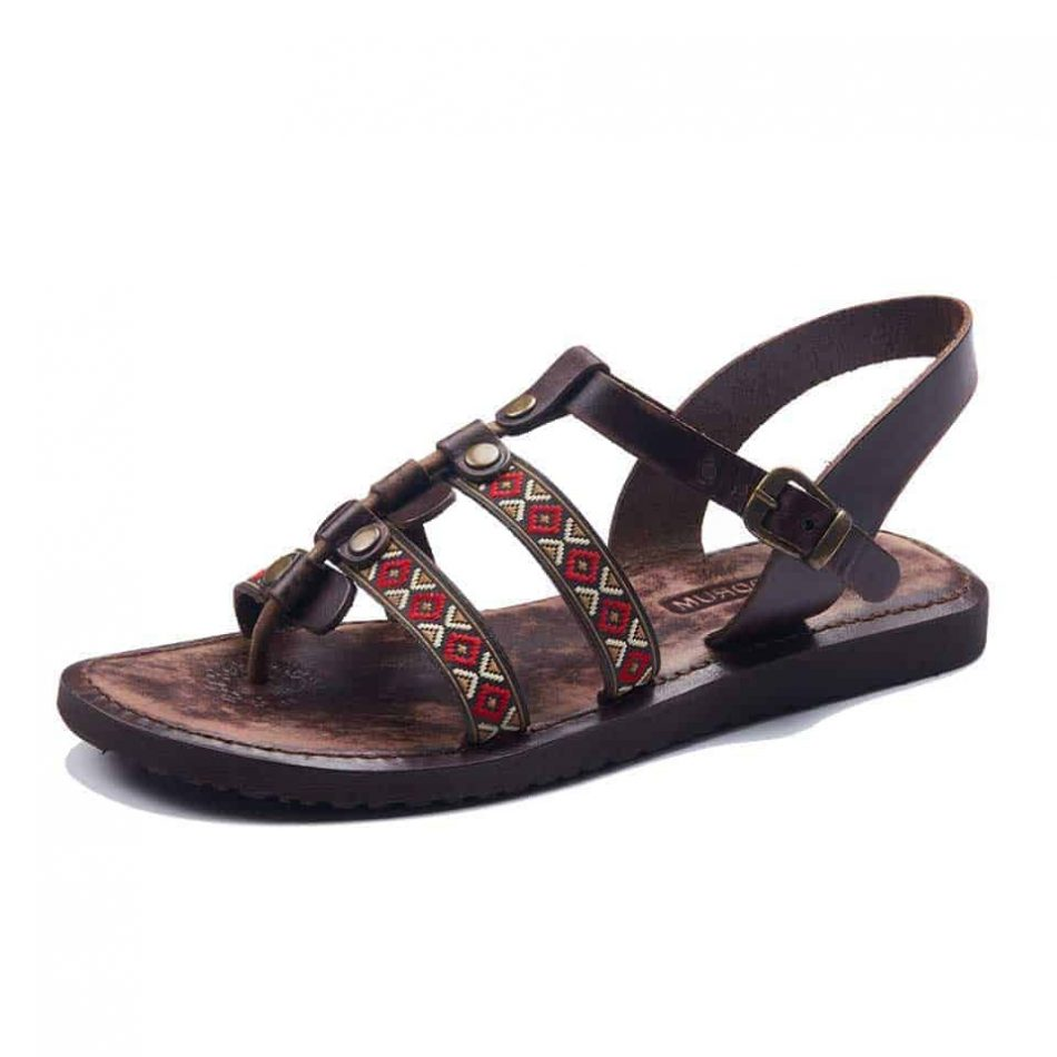 womens sandals 950x950 - Boho Style Leather Bodrum Sandals Women