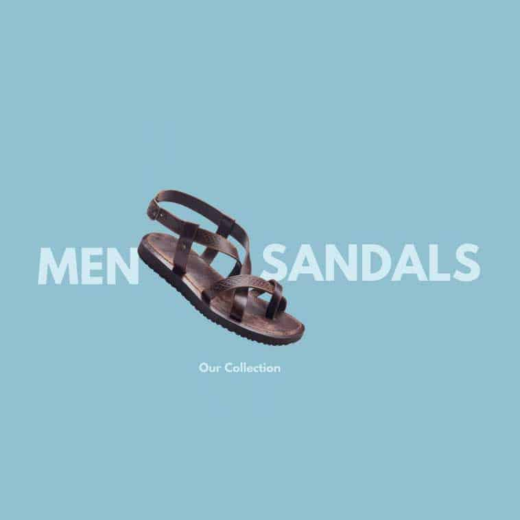 Handmade Leather Sandals For Men