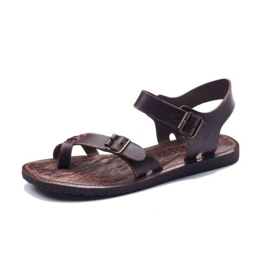 leather chappals for mens online shopping