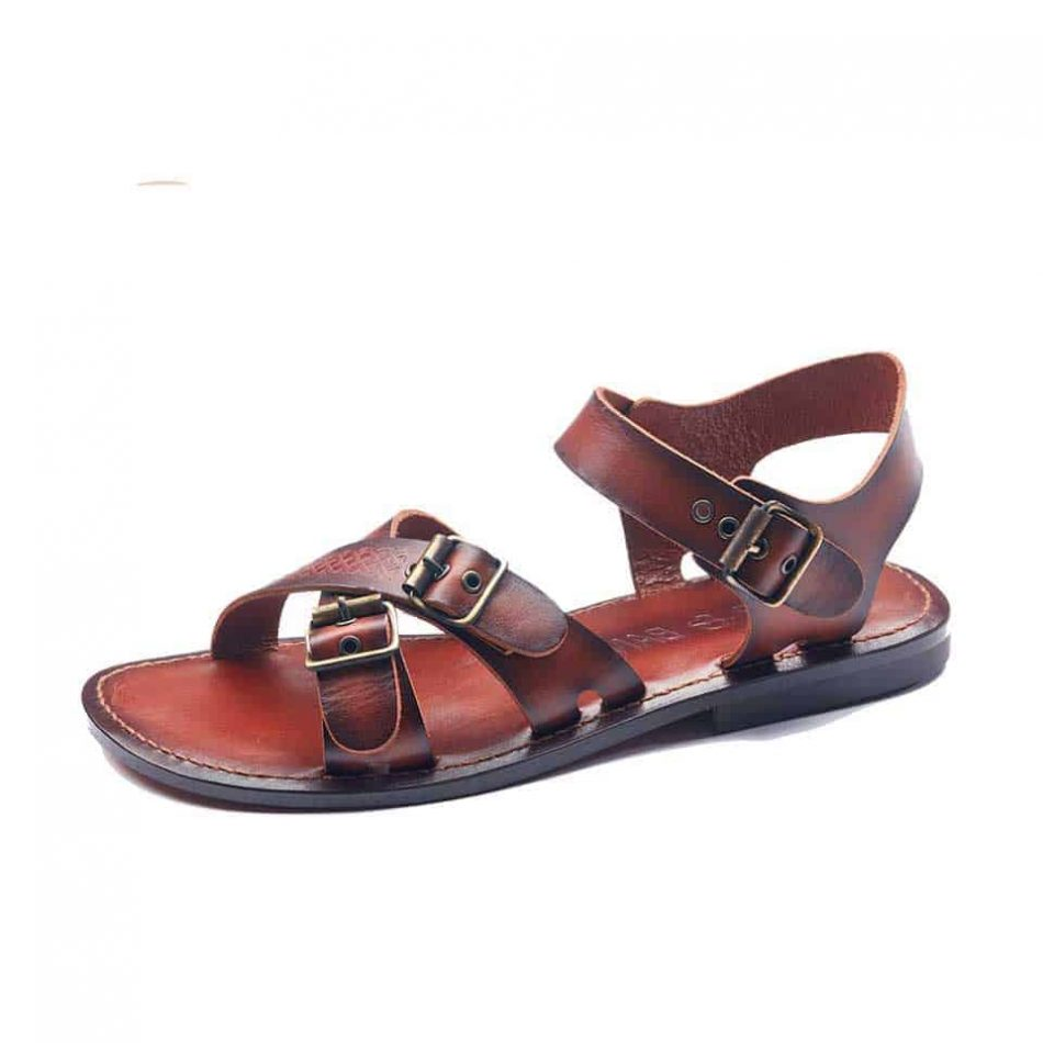 buy mens leather sandals online