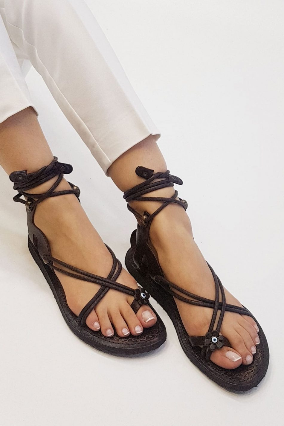 buy strappy sandals