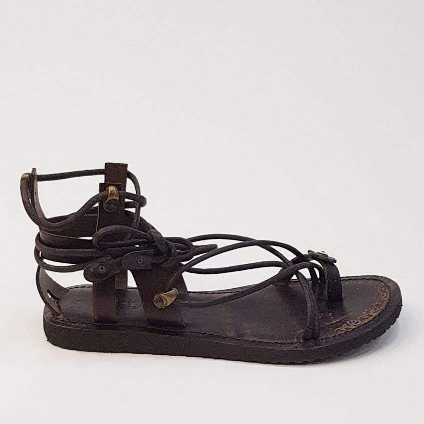 buy womens leather sandals online shopping
