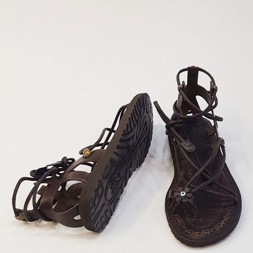 brown, black, tan leather sandals womens buy online