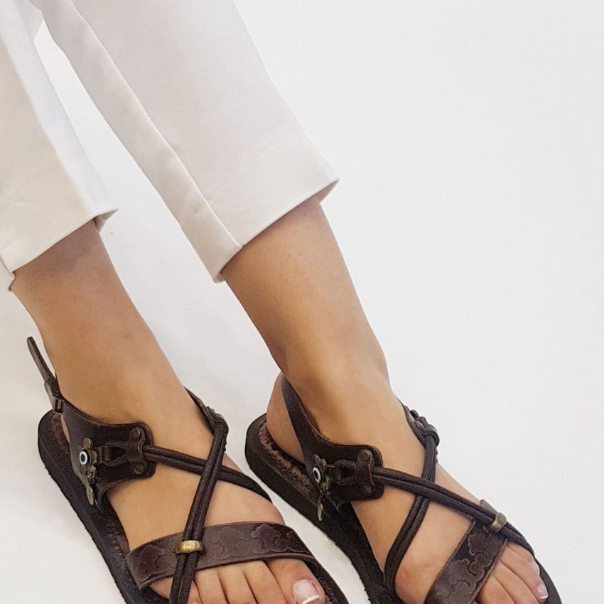 Womens Leather Flat Sandals 1 850x850 - Home