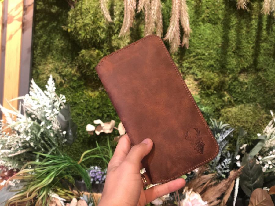 Leather Phone Case Wallet Engrave Customize Personalized Walled 13 - Leather Phone Case Wallet