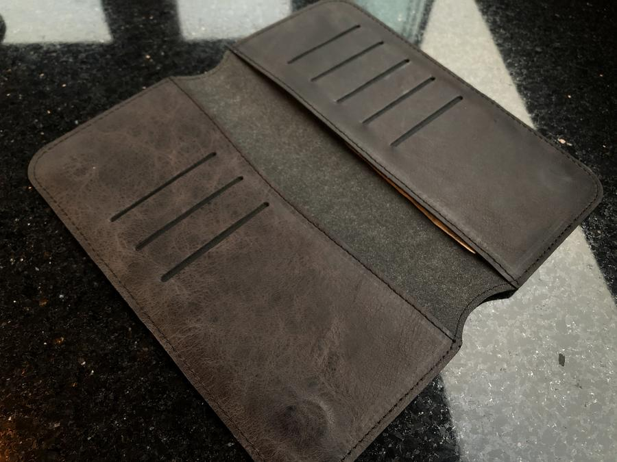 Leather Phone Case Wallet Engrave Customize Personalized Walled 8 - Leather Phone Case Wallet