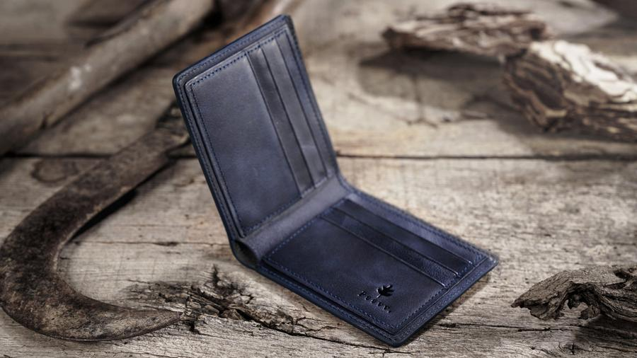plain black wallet
