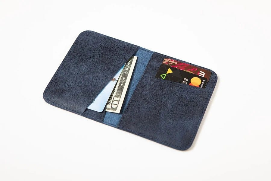 Swiss Wallet Slim and Minimal Mens Leather Wallet 3 - Swiss Wallet - Slim and Minimal Men's Leather Wallet