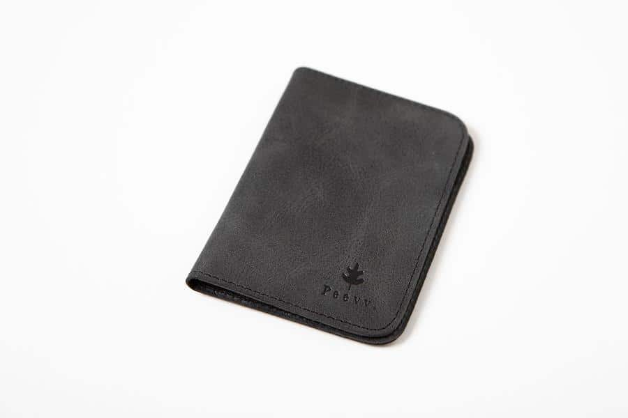 Swiss Wallet Slim and Minimal Mens Leather Wallet Black 1 - Swiss Wallet - Slim and Minimal Men's Leather Wallet