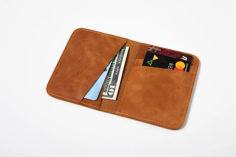 Swiss Wallet Slim and Minimal Mens Leather Wallet Camel 1 - Swiss Wallet - Slim and Minimal Men's Leather Wallet