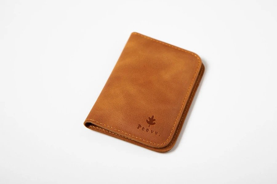 Swiss Wallet Slim and Minimal Mens Leather Wallet Camel 3 - Swiss Wallet - Slim and Minimal Men's Leather Wallet