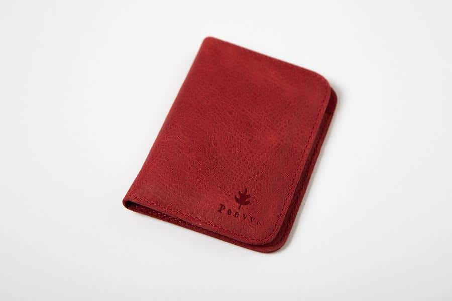 Swiss Wallet Slim and Minimal Mens Leather Wallet Red 3 - Swiss Wallet - Slim and Minimal Men's Leather Wallet