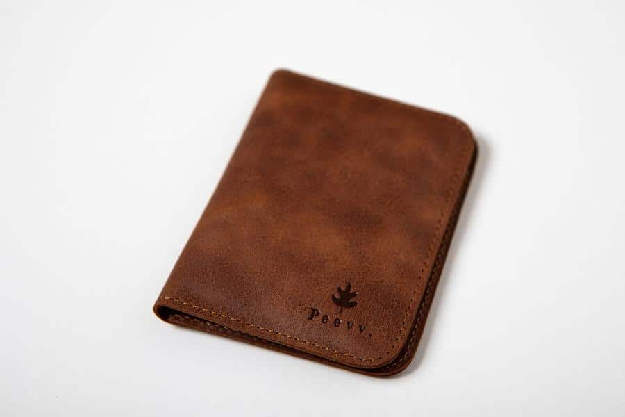 Swiss Wallet Slim and Minimal Mens Leather Wallet Tan 1 - Swiss Wallet - Slim and Minimal Men's Leather Wallet