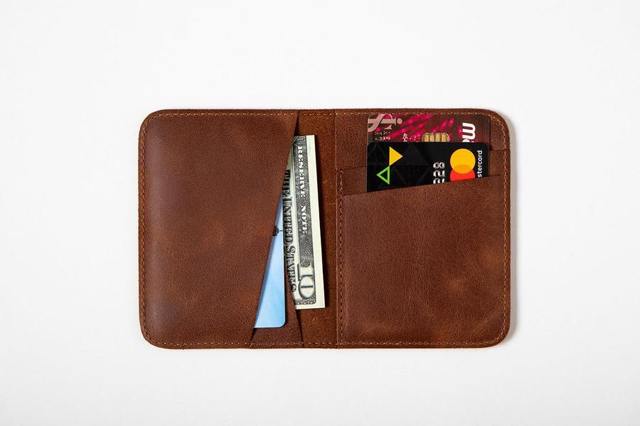 Swiss Wallet Slim and Minimal Mens Leather Wallet Tan 2 - Swiss Wallet - Slim and Minimal Men's Leather Wallet
