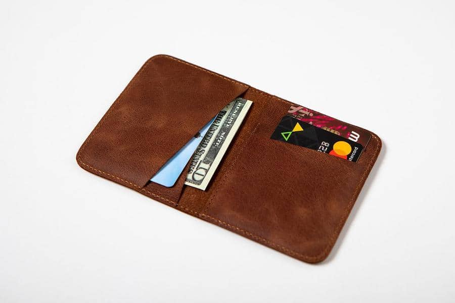 Swiss Wallet Slim and Minimal Mens Leather Wallet Tan 3 - Swiss Wallet - Slim and Minimal Men's Leather Wallet