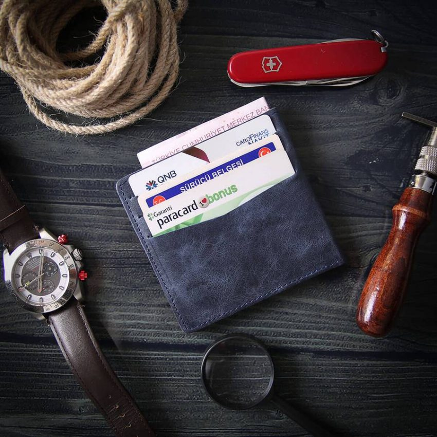pure leather wallets for men